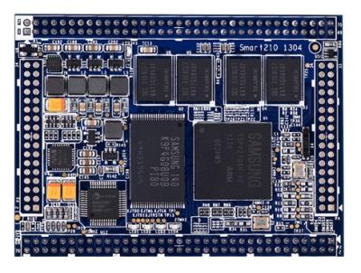 Smart210 Core Board _ .: original core board 1GB SLC Nand Flash .: اسمارت 210 کور برد با پردازنده S5PV210